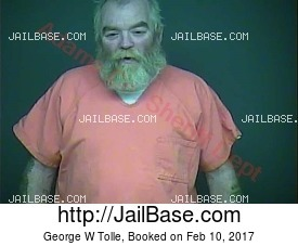 George W Tolle mugshot picture