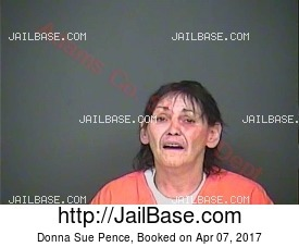 Donna Sue Pence mugshot picture