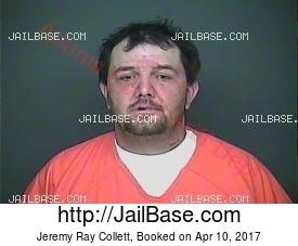 jeremy ray collett mugshot picture