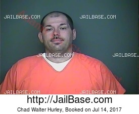 CHAD WALTER HURLEY mugshot picture