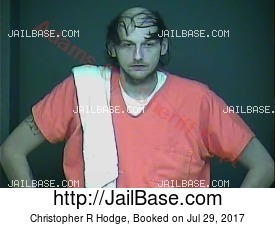 Christopher R Hodge mugshot picture
