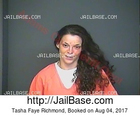 TASHA FAYE RICHMOND mugshot picture
