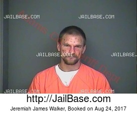 Jeremiah James Walker mugshot picture