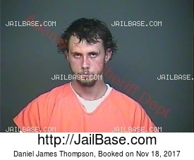 Daniel James Thompson mugshot picture