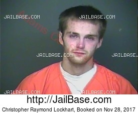 Christopher Raymond Lockhart mugshot picture