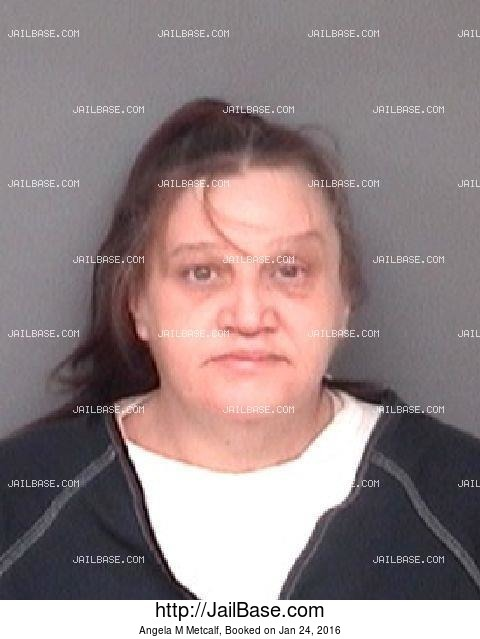ANGELA M METCALF mugshot picture