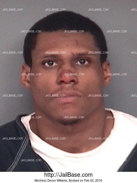MONTREZZ DEVON WILLIAMS mugshot picture