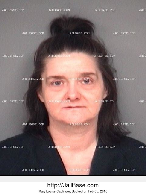 MARY LOUISE CAPLINGER mugshot picture