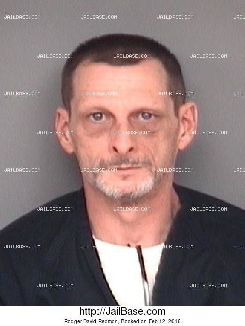 RODGER DAVID REDMON mugshot picture