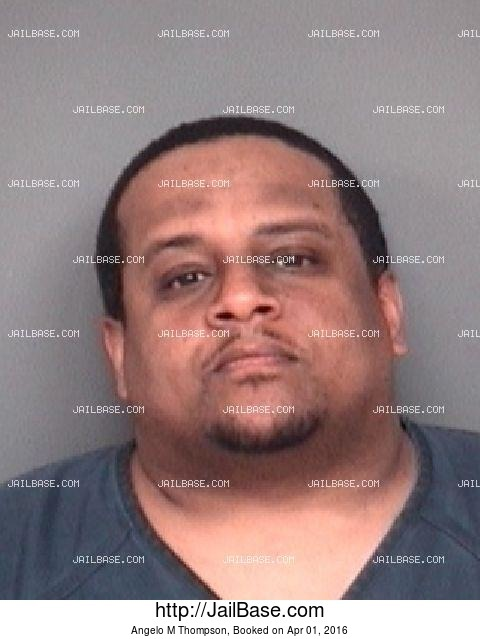 ANGELO M THOMPSON mugshot picture