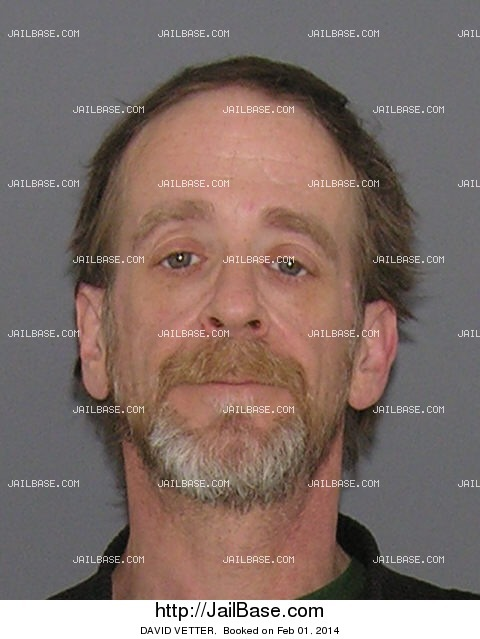 DAVID VETTER mugshot picture