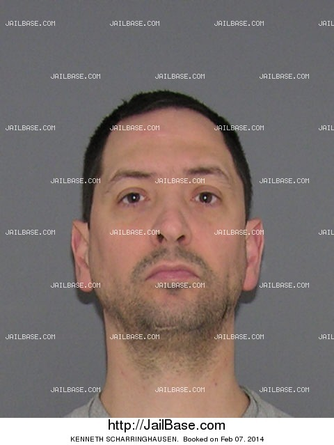 kenneth scharringhausen mugshot picture