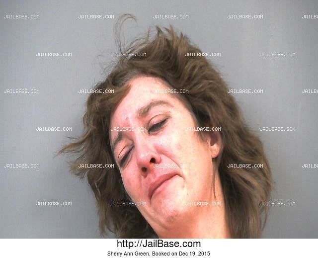 SHERRY ANN GREEN mugshot picture