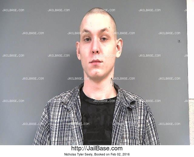 NICHOLAS TYLER SEELY mugshot picture