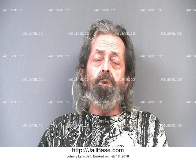 JOHNNY LYNN JETT mugshot picture