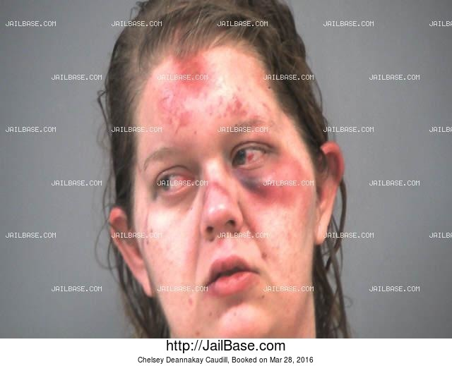 CHELSEY DEANNAKAY CAUDILL mugshot picture