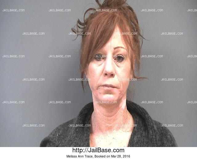 MELISSA ANN TRACE mugshot picture