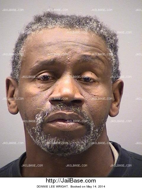Donnie Lee Wright Arrested On May 14 2014 Jailbase