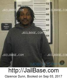 Clarence Dunn mugshot picture