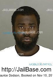 Maurice Dodson mugshot picture