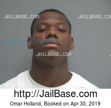 Omar Holland mugshot picture