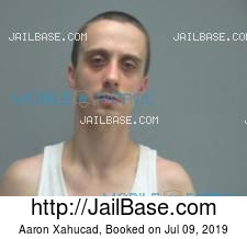 Aaron Xahucad mugshot picture