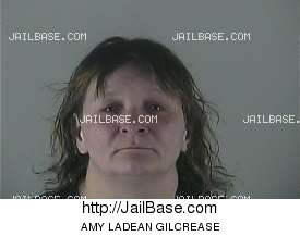 AMY LADEAN GILCREASE mugshot picture