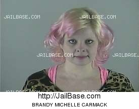 BRANDY MICHELLE CARMACK mugshot picture