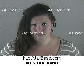 EMILY JUNE MEEKER mugshot picture