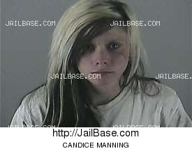 CANDICE MANNING mugshot picture