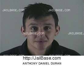 ANTHONY DANIEL DURAN mugshot picture