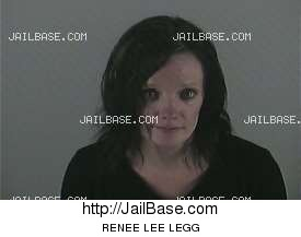 RENEE LEE LEGG mugshot picture