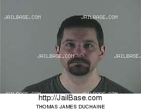 THOMAS JAMES DUCHAINE mugshot picture