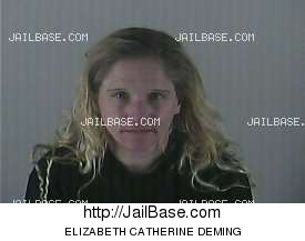 ELIZABETH CATHERINE DEMING mugshot picture