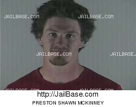 PRESTON SHAWN MCKINNEY mugshot picture