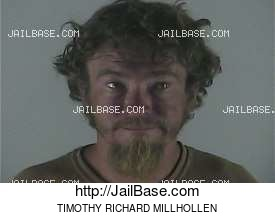 TIMOTHY RICHARD MILLHOLLEN mugshot picture