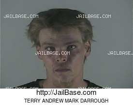 TERRY ANDREW MARK DARROUGH mugshot picture