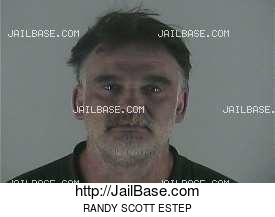 RANDY SCOTT ESTEP mugshot picture
