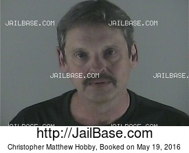 CHRISTOPHER MATTHEW HOBBY mugshot picture