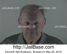 KENNETH NEIL ANDERSON mugshot picture