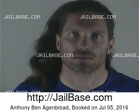 ANTHONY BEN AGENBROAD mugshot picture