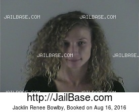 JACKLIN RENEE BOWLBY mugshot picture