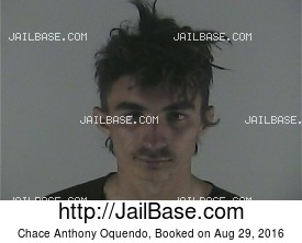 CHACE ANTHONY OQUENDO mugshot picture