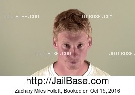 ZACHARY MILES FOLLETT mugshot picture