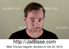 MARK THOMAS GAGNIER mugshot picture