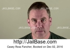 CASEY ROSS FANCHER mugshot picture