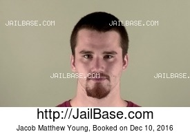 JACOB MATTHEW YOUNG mugshot picture