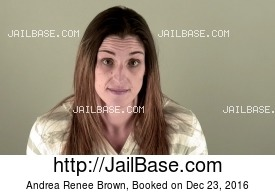 ANDREA RENEE BROWN mugshot picture