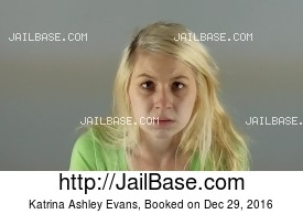 KATRINA ASHLEY EVANS mugshot picture