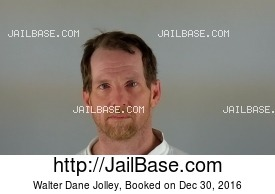 WALTER DANE JOLLEY mugshot picture
